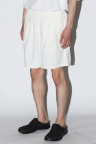 BURLAP OUTFITTER / TRACK SHORT SOLID -white-
