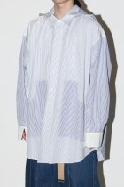 NISH / HOODED SHIRTS - stripe