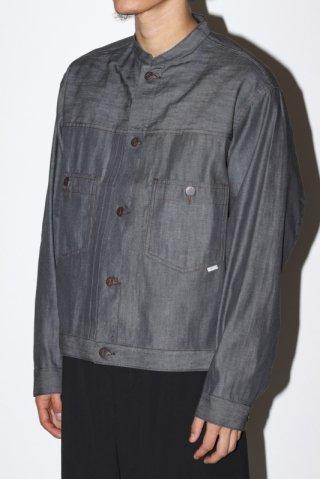 STABILIZER GNZ / 8-22 stand collar jacket - gray