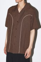 Steady Clothing / s/s shirts - brown