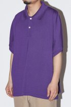 superNova. / Dolman knit polo - purple
