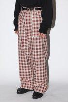 Willow Pants / P-001 dead stock Jacquard fabric