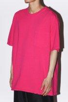 MAKERS / POCKET T-SHIRTS - pink
