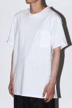 MAKERS / POCKET T-SHIRTS - white
