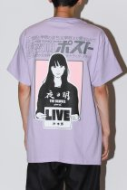 NEW YOAKE POST / KYNE SS TEE - orchid