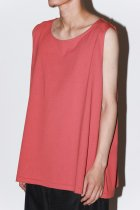 ANDER / SLEEVELESS - red