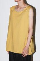 ANDER / SLEEVELESS - yellow