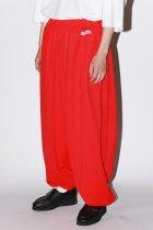 LOCALINA / ×OTSUKA hopping pants solid - red