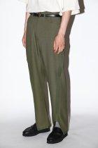 NuGgETS / Gusset pants - side line - olive