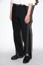 NuGgETS / Gusset pants - denim - black