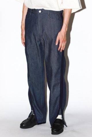 NuGgETS / Gusset pants - denim - blue