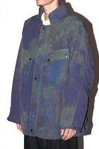 Needles / C.P. Jacket - Nylon Tussore / Uneven Dye - eggplant