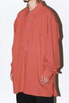 Marvine Pontiak Shirt Makers / Double Pocket P/O SH - kaki