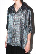 Badhiya / Open collar ss shirts -batik- K