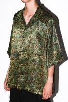 Badhiya / Open collar ss shirts -batik- O