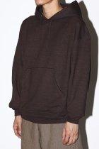 evan kinori / Hooded Sweatshirt - brown
