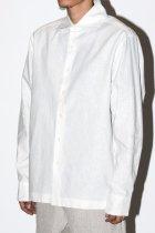 evan kinori / Flat Hem Shirt - Organic Cotton/Hemp Muslin