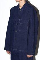 evan kinori / Field Shirt - Natural Dye Cotton