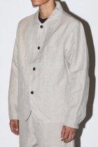 evan kinori / Three Pocket Jacket - Tumbled Hemp Canvas