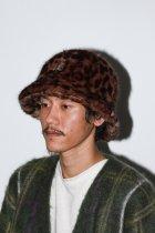 Needles / Bermuda Hat -  Faux Fur / Leopard