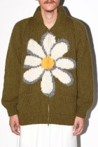 MacMahon Knitting Mills / Cowichan-Flower - olive