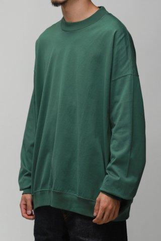 ANDER / LS SWEAT TEE - us green