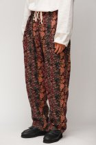 South2 West8 / Army String Pant - India Jacquard / Flower
