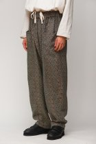 South2 West8 / Army String Pant - India Jacquard / Fine Pattern