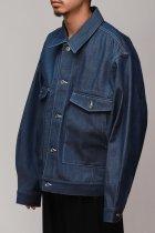 superNova. / Dolman work jacket - Denim - indigo