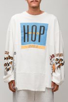 CHANGES / 90's 4panel tee -white LCK3
