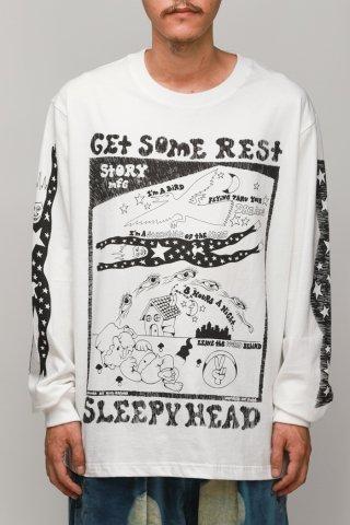 STORY mfg / Grateful Tee LS  - sleepyhead