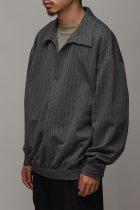 superNova. / Skipper Shirt Jacket - Herringbone - gray