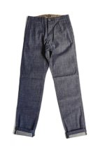 <img class='new_mark_img1' src='//img.shop-pro.jp/img/new/icons20.gif' style='border:none;display:inline;margin:0px;padding:0px;width:auto;' />A VONTADE / 12oz Selvedge Denim Military Trousers