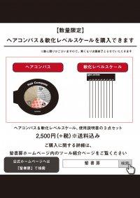 ストレートパーマ最強読本 特別付録(ヘアコンパス&軟化レベルスケール)