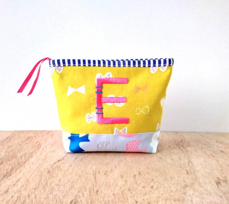 イニシャルポーチ ☆ 『E』