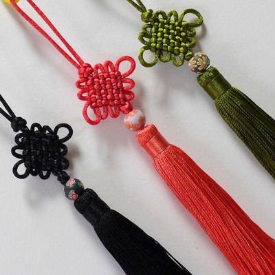 タッセル つるし飾り素材 中国雑貨多幸屋 西安民俗工芸 チャイナ房飾り  シノワズリ雑貨小物