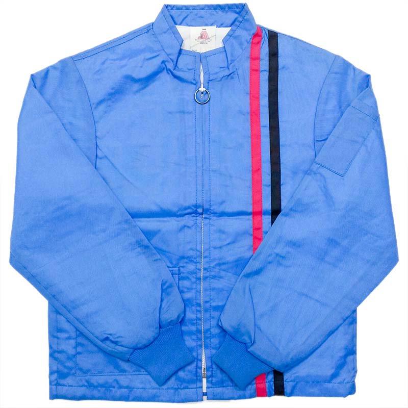 1970 年代 USA Vintage THE GREAT LAKES JACKET RACING JAC ナイロン レーシングジャケット カラー:青・赤/黒 サイズ(ボーイズ):…