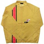 1970 年代 U.S.A. JOHNSON MOTORS OUTBOAROS ジョンソン モーター ヴィンテージ ナイロン レーシングジャケット カラー:ゴールド サイズ:L