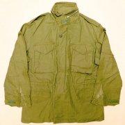 1967〜71年製 米軍 U.S. ARMY M-65 2nd モデル アルミジッパー フィールドジャケット オリーブグリーン サイズ:M相当 グレード:BC