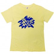 1970年代製 U.S.A. Hanes ヘインズ プリントTシャツ The Sport Spot  色:レモンイエロー サイズ:M 38-40 グレード:BC