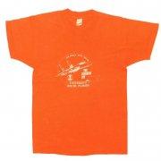 1980年代製 U.S.A. SCREEN STARS プリントTシャツ UNIVERSITY of SOUTH FLORIDA 色:オレンジ サイズ:M グレード:B