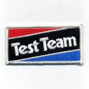 U.S.A. 70年代 デッドストック 刺繍 ワッペン テストチーム - TestTeam -