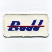 U.S.A. 70年代 デッドストック 刺繍 ワッペン - Budd -