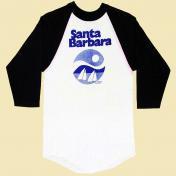 古着 Soffe Santa Barbara ベースボールTシャツ
