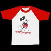 古着 USA ミッキーマウス ベースボールTシャツ