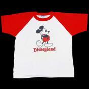 古着 USA ミッキーマウス ベースボール Tシャツ