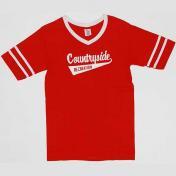 古着 STEDMAN アスレチック Tシャツ