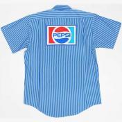 古着 PEPSI Riversidel ワークシャツ