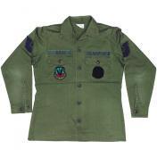 70's米軍OG-507ユーティリティーシャツ