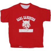 古着 Carl Sandburg リバーシブル Tシャツ